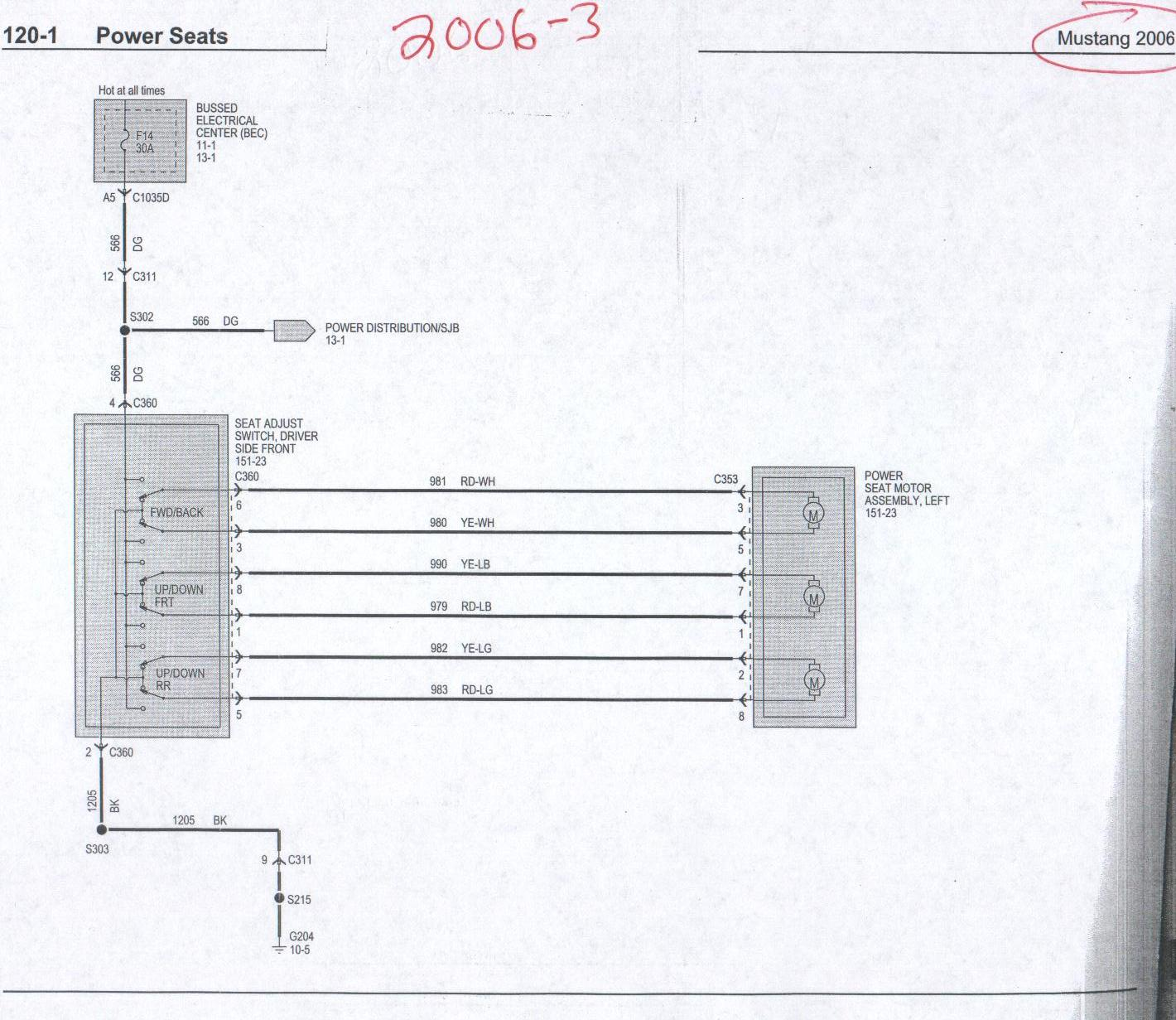 OM_0104] 2005 Mustang Power Seat Wiring Diagrams Schematic WiringUsnes Cajos Mohammedshrine Librar Wiring 101