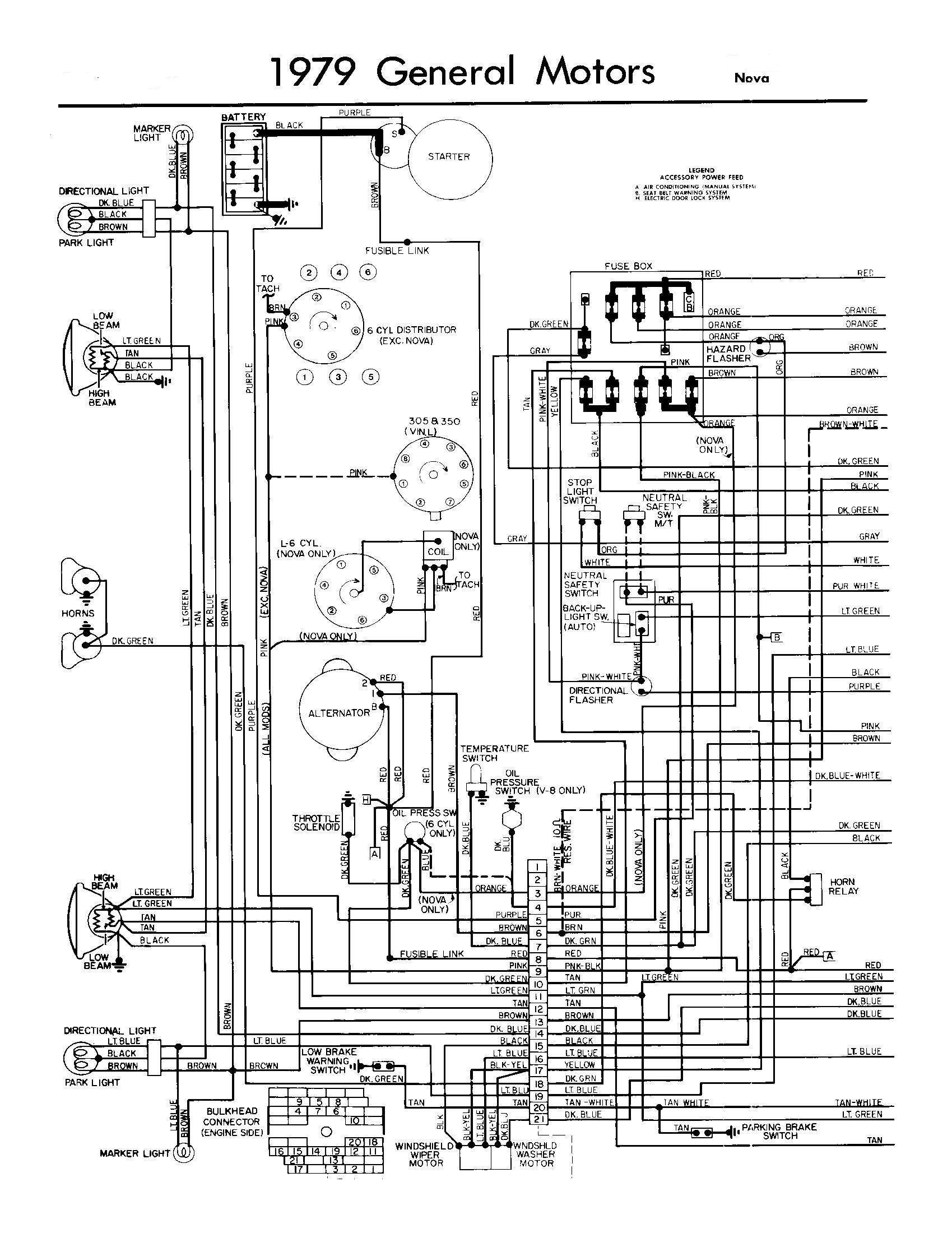 76 Chevy Wiring Diagram