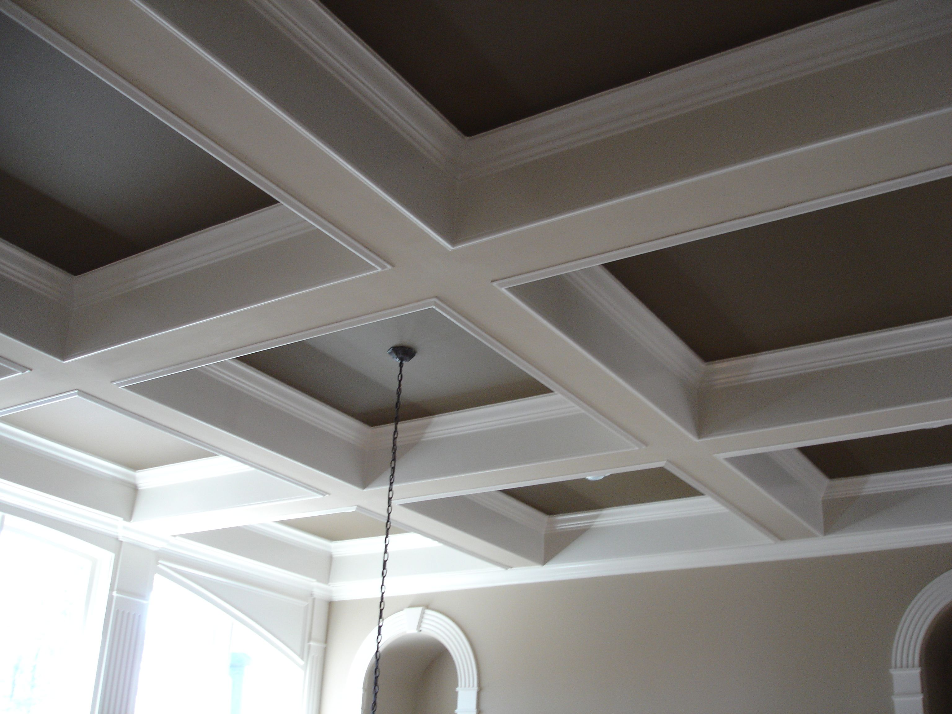 Surprising Coffered Ceilings In 15 Contemporary Living Rooms Tilton Coffered Wiring Cloud Staixaidewilluminateatxorg
