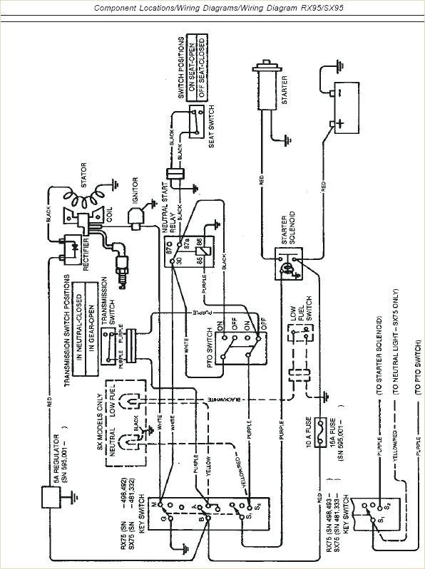 John Deere L120 Electrical Schematic