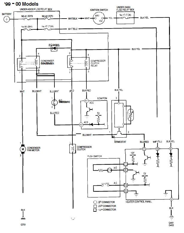 Marvelous Honda Civic Electrical Diagram Wiring Diagram Wiring Cloud Onicaxeromohammedshrineorg