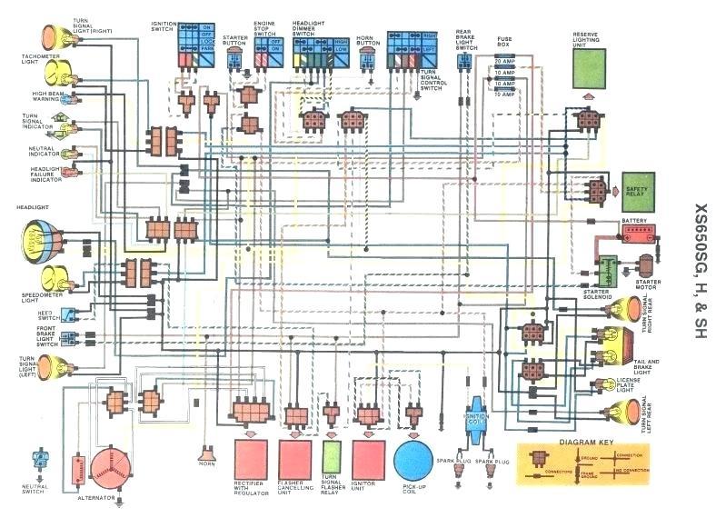 1979 Yamaha Xs650 Wiring Diagram