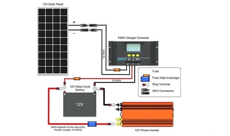 Yd 8571 12 Volt Solar Wiringdiagram Download Diagram