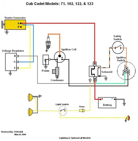 cub cadet 2135 wiring schematic  230v 3 phase wiring