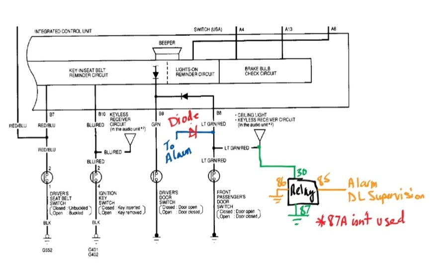 Superb 2000 Honda Civic Alarm Wiring Wiring Diagram Wiring Cloud Lukepaidewilluminateatxorg