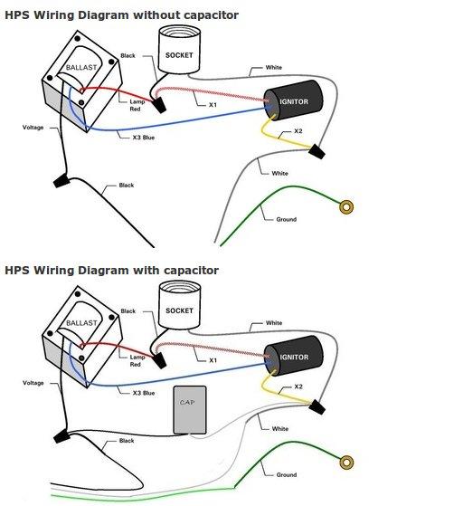 100 watt hps ballast wiring diagram  nautic star wiring