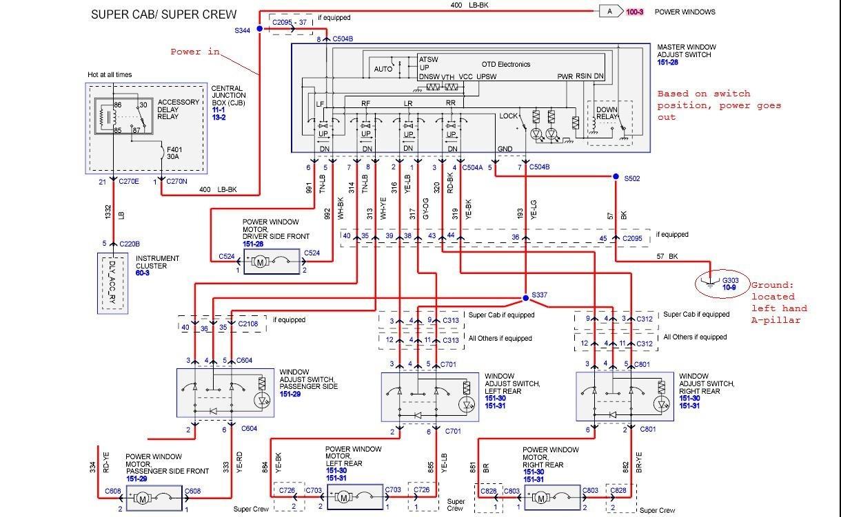 1992 Ford F150 Wiring Schematic