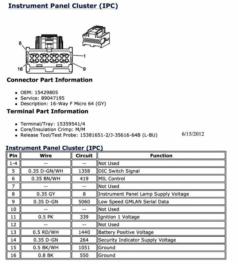 Stereo Wiring Diagram For 07 Pontiac G5