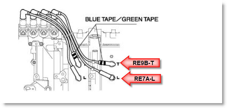 mazda rx 8 spark plug wire diagram  home wiring diagrams