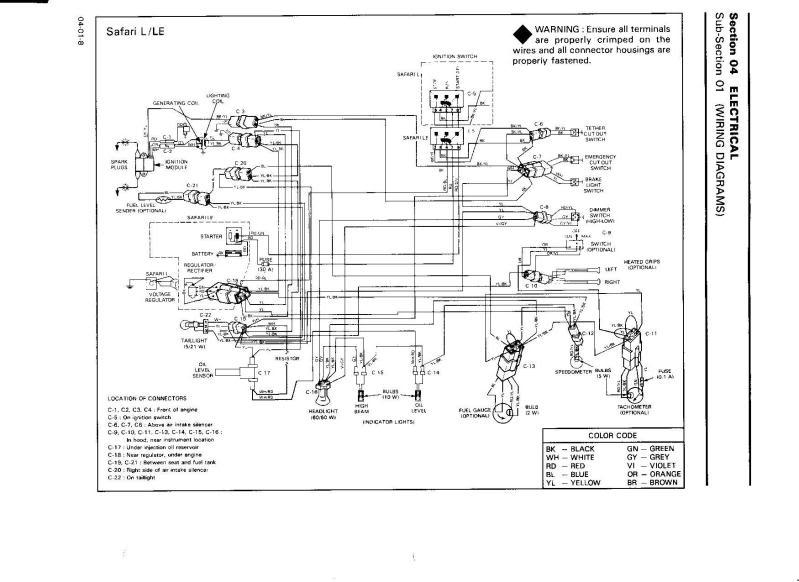 1998 Ski Doo Mach 1 Wiring Diagram
