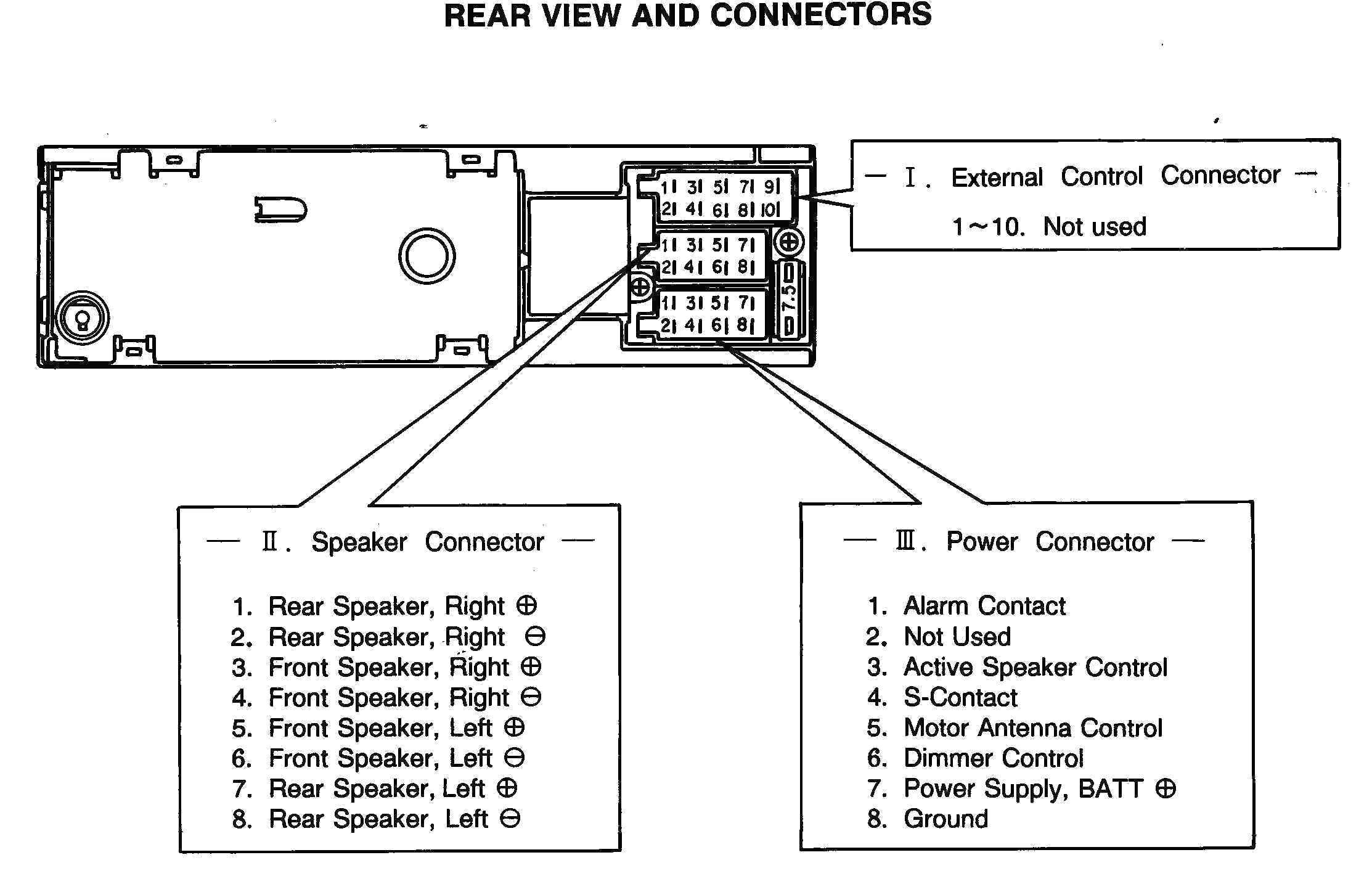 Vw Golf Stereo Wiring Diagram