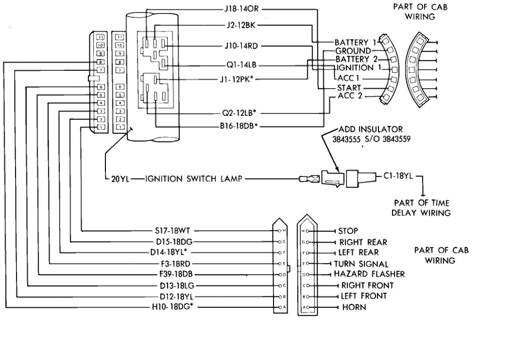 1957 ford ignition wiring diagram tx 1497  57 thunderbird ignition switch wiring diagram free diagram  ignition switch wiring diagram