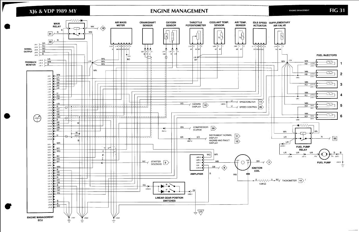 Amazing Ecu Wiring Schematic Xj40 Wiring Cloud Picalendutblikvittorg