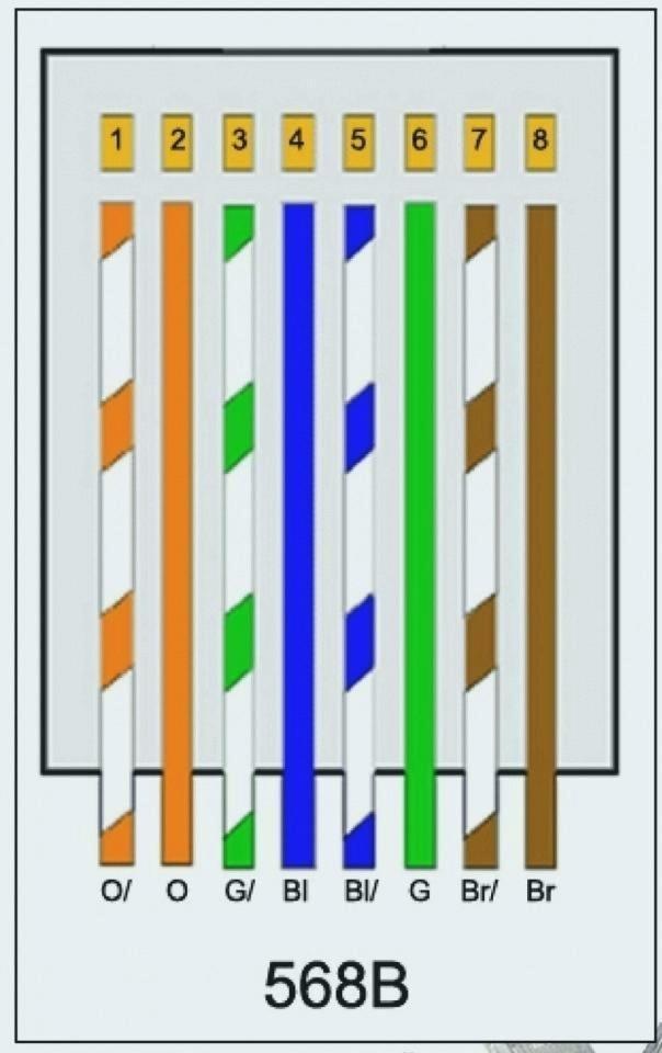 Cat6 A Wiring Diagram