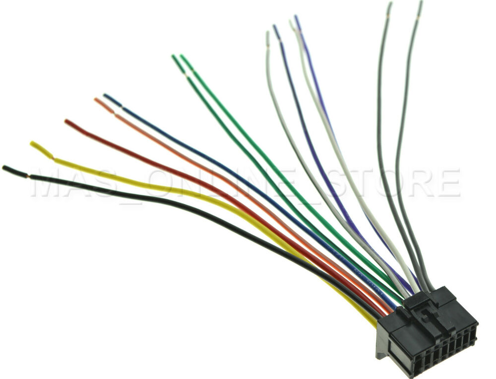 Admirable Wire Harness For Pioneer Deh P3100Ub Dehp3100Ub Pay Today Ships Wiring Cloud Licukaidewilluminateatxorg