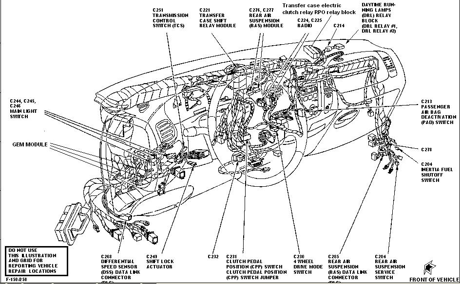 1998 ford f 150 wiring harness diagram 1997 ford f 150 transmission wiring harness diagram blog wiring  transmission wiring harness diagram