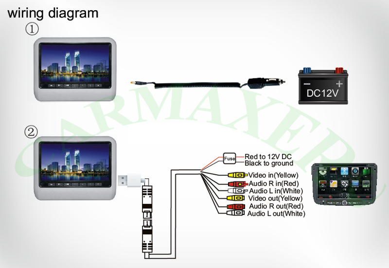 Headrest Dvd Player Wiring Diagram