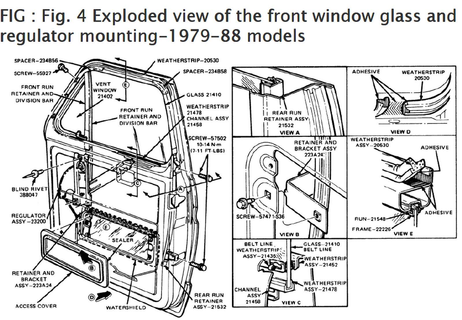 Es 4643 1988 Ford E 350 Wiring Diagram Schematic Wiring