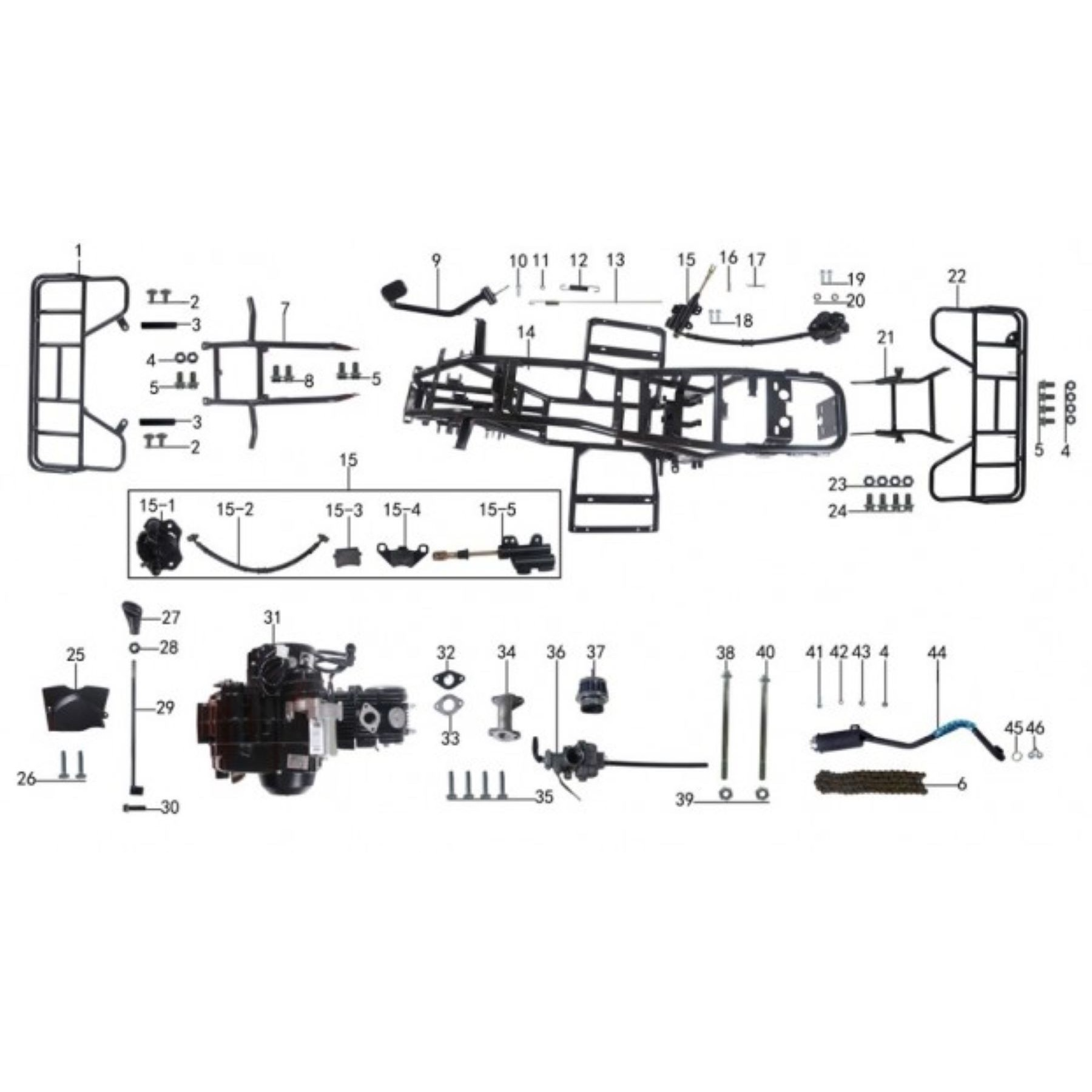 CD_8933] Taotao Atv 125 Parts Diagram Free DiagramDimet Akeb Rect Mohammedshrine Librar Wiring 101