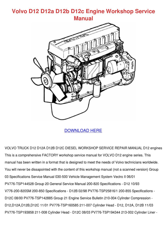 ZZ_5215] Volvo D12 Ecm Wiring Diagram Wiring Diagram | Volvo D12c Engine Diagram |  | Etic Ally Heli Tixat Mohammedshrine Librar Wiring 101