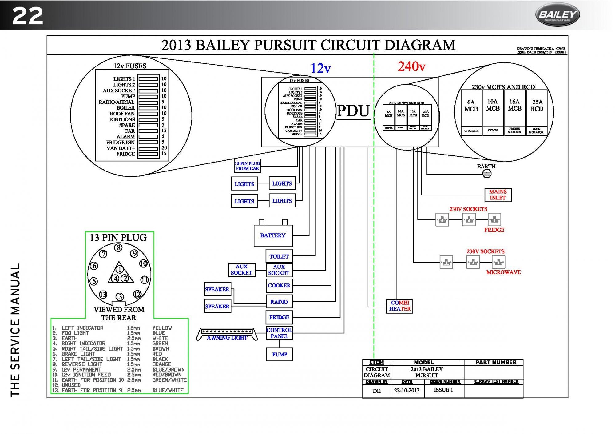 Hobby Caravan Wiring Diagram