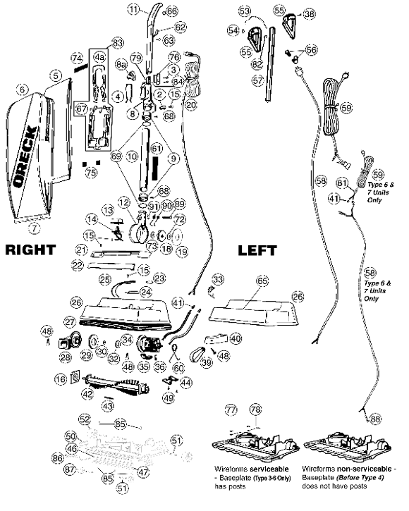diagram of oreck om 6953  oreck xl parts diagram wiring free diagram diagram of orca om 6953  oreck xl parts diagram wiring