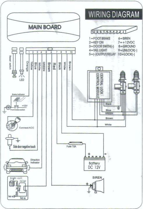 Excellent Buy Oem 10 Pin 4 Button Multi Function Car Alarm System L B17 Wiring Cloud Histehirlexornumapkesianilluminateatxorg