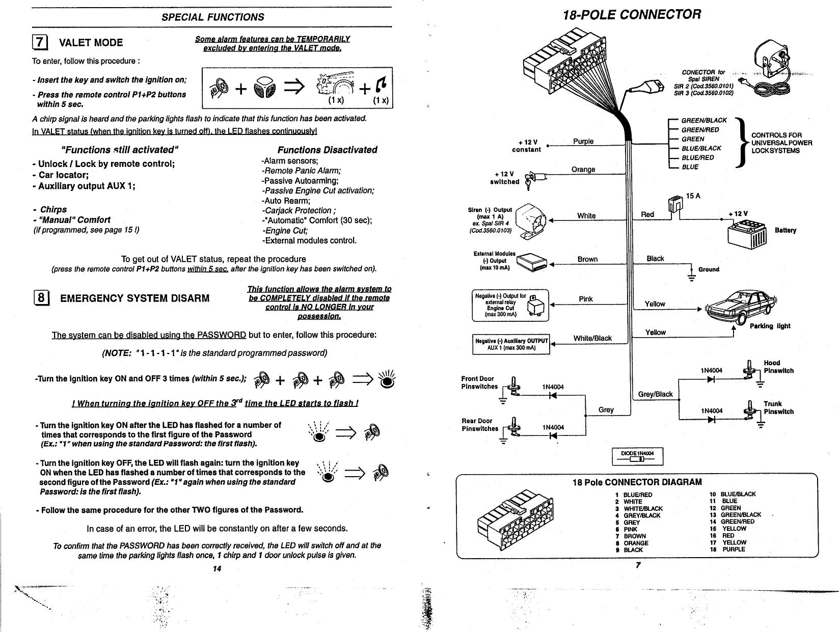 Hz 2987  Audi 80 Central Locking And Alarm Control Unit Wiring Diagram Download Diagram