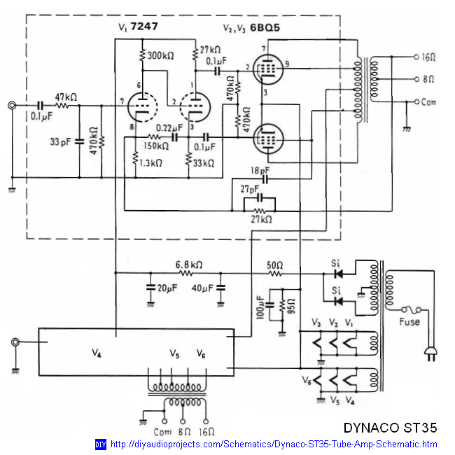 Magnificent Dynaco Dynakit Stereo 35 St35 Tube Amplifier Schematic And Manual Wiring Cloud Icalpermsplehendilmohammedshrineorg