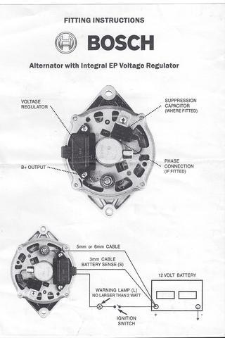 Fantastic Bosch Internal Regulator Alternator Wiring Diagram Oldholden Com Wiring Cloud Hemtshollocom