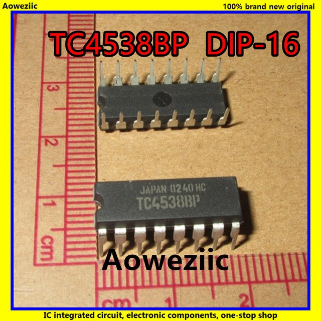 DUAL PRECISION MONOSTABLE MULTIVIBRATOR NTE NTE4538B Integrated Circuit CMOS
