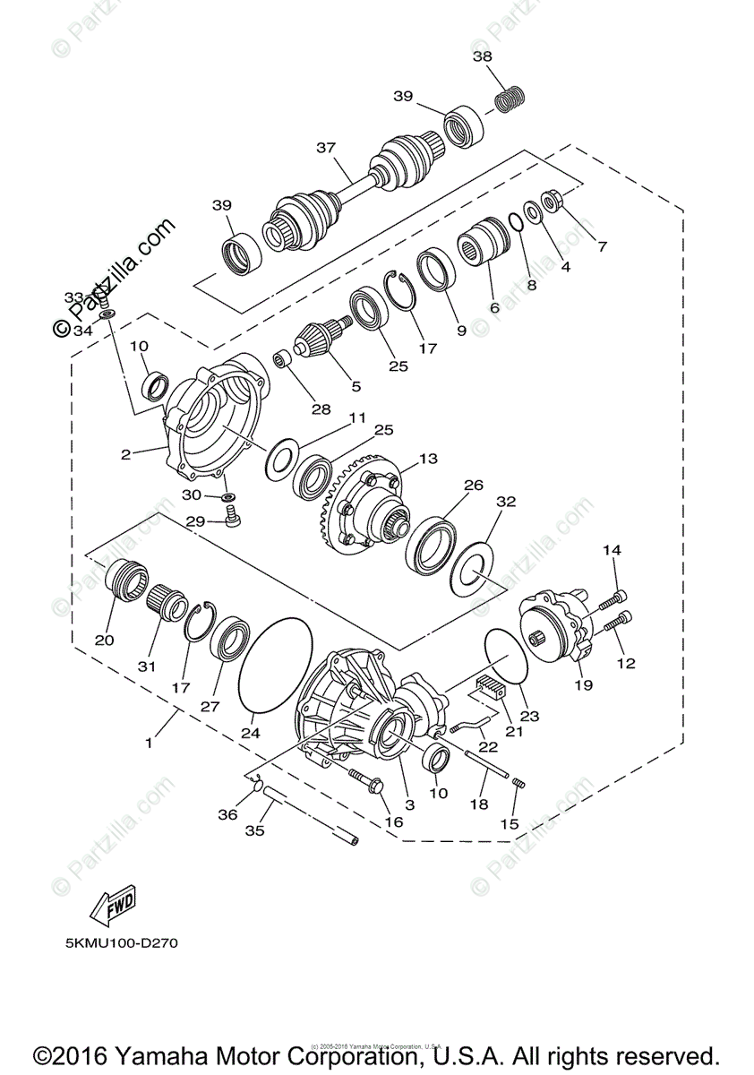 Ya 0595 Yamaha Atv Grizzly 660 Wiring Diagram Schematic Wiring