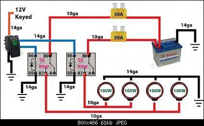 Surprising Off Road Light Wiring Diagram Automotive Electronics Jeep Wiring Cloud Inklaidewilluminateatxorg