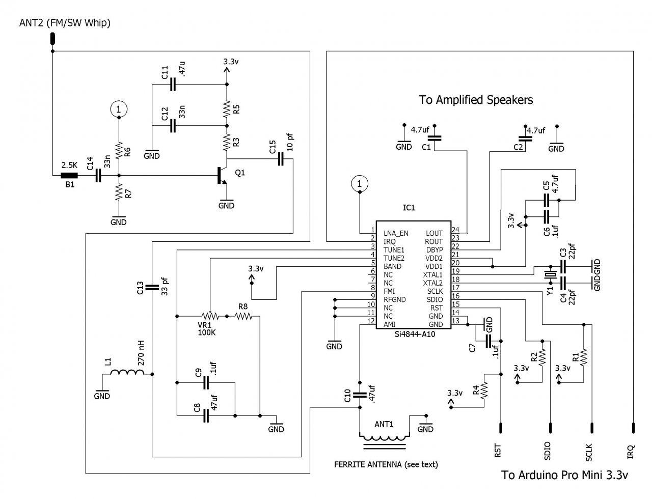 Wondrous How To Build An Arduino Controlled Am Fm Sw Radio Wiring Cloud Counpengheilarigresichrocarnosporgarnagrebsunhorelemohammedshrineorg