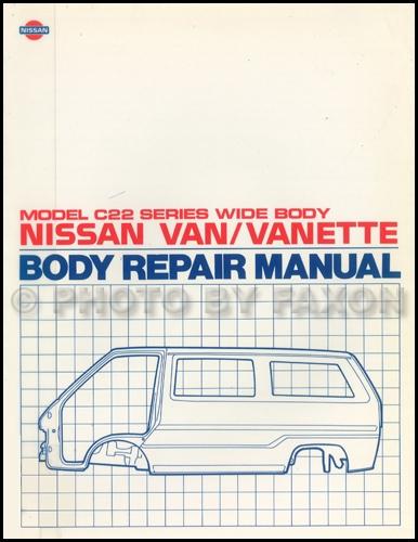Wiring Diagram Nissan Vanette
