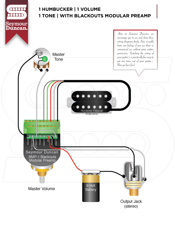 Seymour Duncan Blackout Wiring 2008