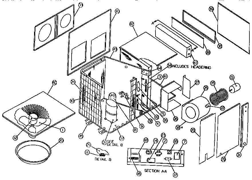 rheem air conditioner wiring diagram zw 1350  wiring ac parts  zw 1350  wiring ac parts