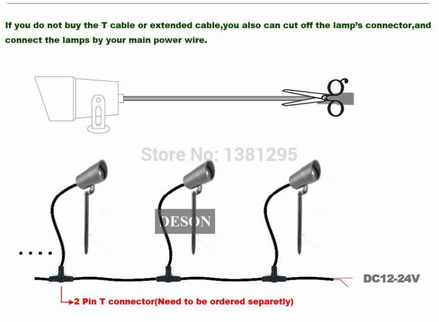 Dy 5971 Wiring Diagram 12v Led Garden Light Garden Schematic Wiring