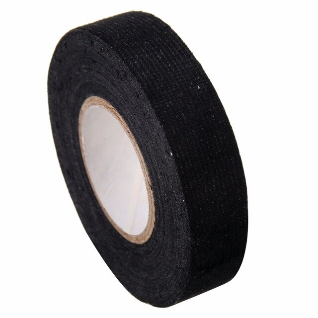 Superb 1Pc Black Adhesive Cable Protection Fabric Tape Looms Wiring Harness Wiring Cloud Timewinrebemohammedshrineorg