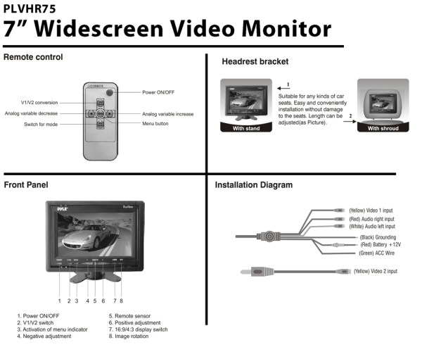 Remarkable 7 Tft Lcd Monitor Wiring Diagram Free Year Of Clean Water Wiring Cloud Rometaidewilluminateatxorg