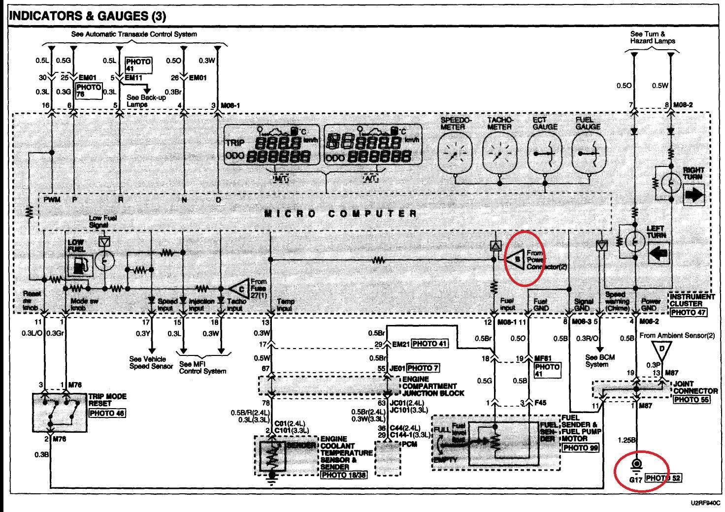 Hyundai Getz 2006 Wiring Diagram
