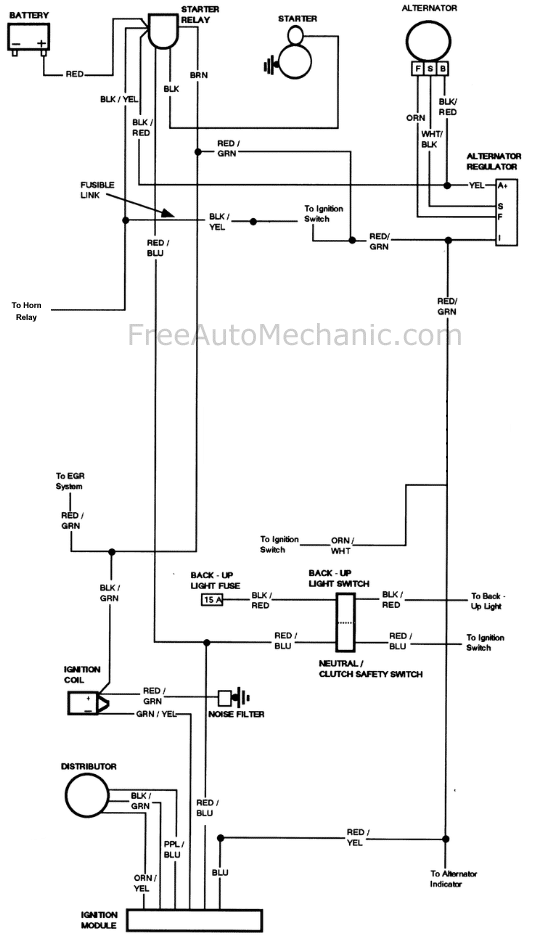 Ford 302 Alternator Wiring Diagram Database