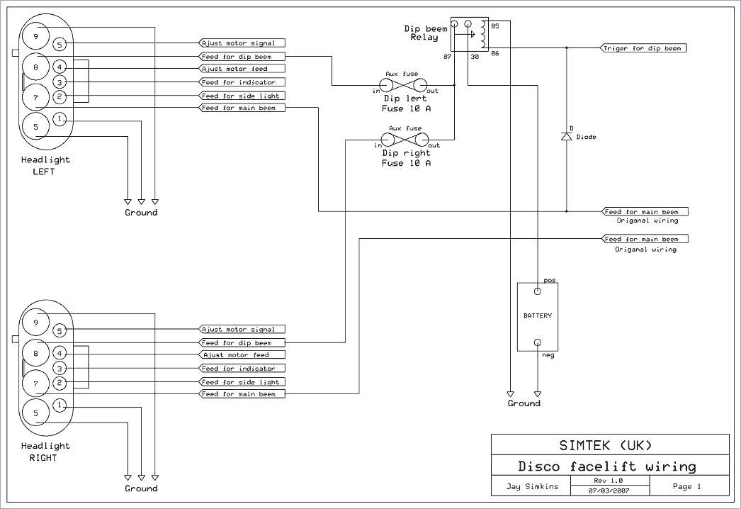 kw9240 freelander 2 fuse box diagram schematic wiring