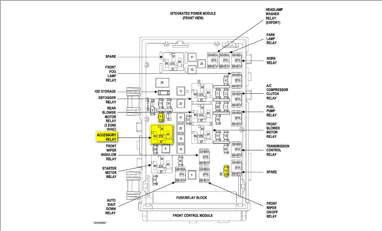 2010 chrysler town and country fuse diagram wh 6852  2008 chrysler town and country fuse diagram schematic wiring  2008 chrysler town and country fuse