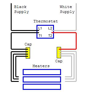 Gh 1566 Heater Thermostat On 2 Baseboard Heater Thermostat Wiring Diagram Download Diagram