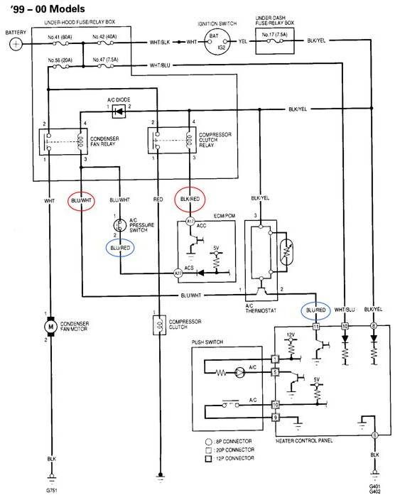 compressor cooling fan wiring diagram with relay nl 7263  wiring diagram toyota camry radiator fan and condenser  nl 7263  wiring diagram toyota camry