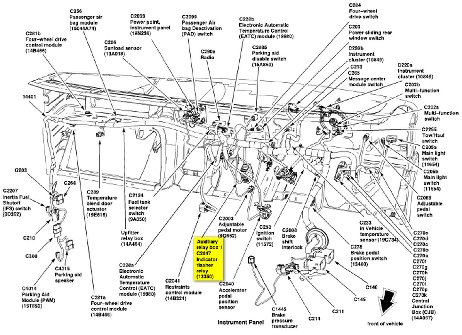 Ford Turn Signal Flasher Diagram Wiring Diagram Frankmotors Es