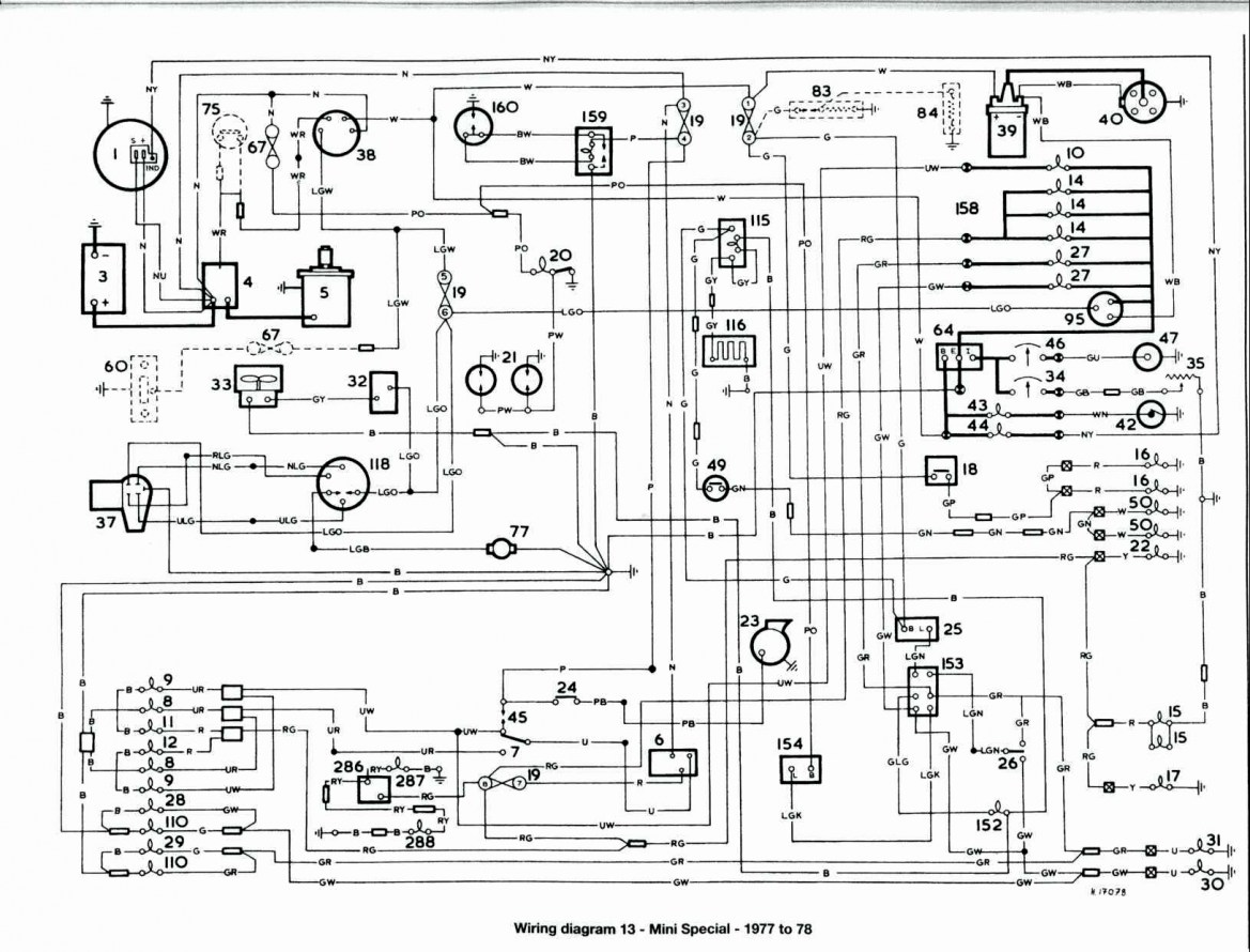 Rover Mini Cooper Auto Electrical Wiring Diagrams 1983 Wiring Diagram Local2 Local2 Maceratadoc It