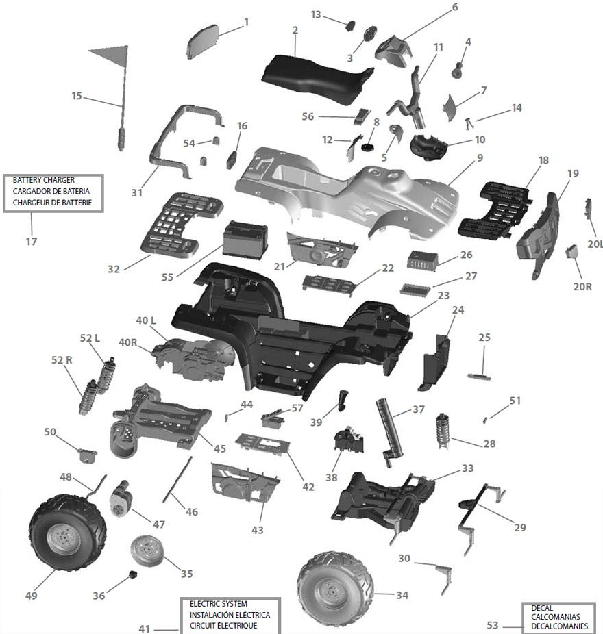 Polaris Sportsman 2008 Wiring Diagram