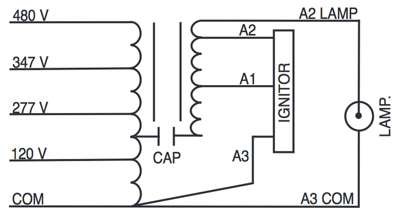 YE_1961] Metal Halide Ballast Wiring Diagram Together With Photocell Wiring  Schematic WiringWww Mohammedshrine Librar Wiring 101